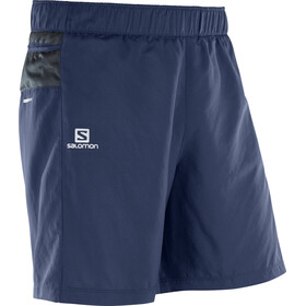 Salomon Trail Runner Shorts Men dress blue